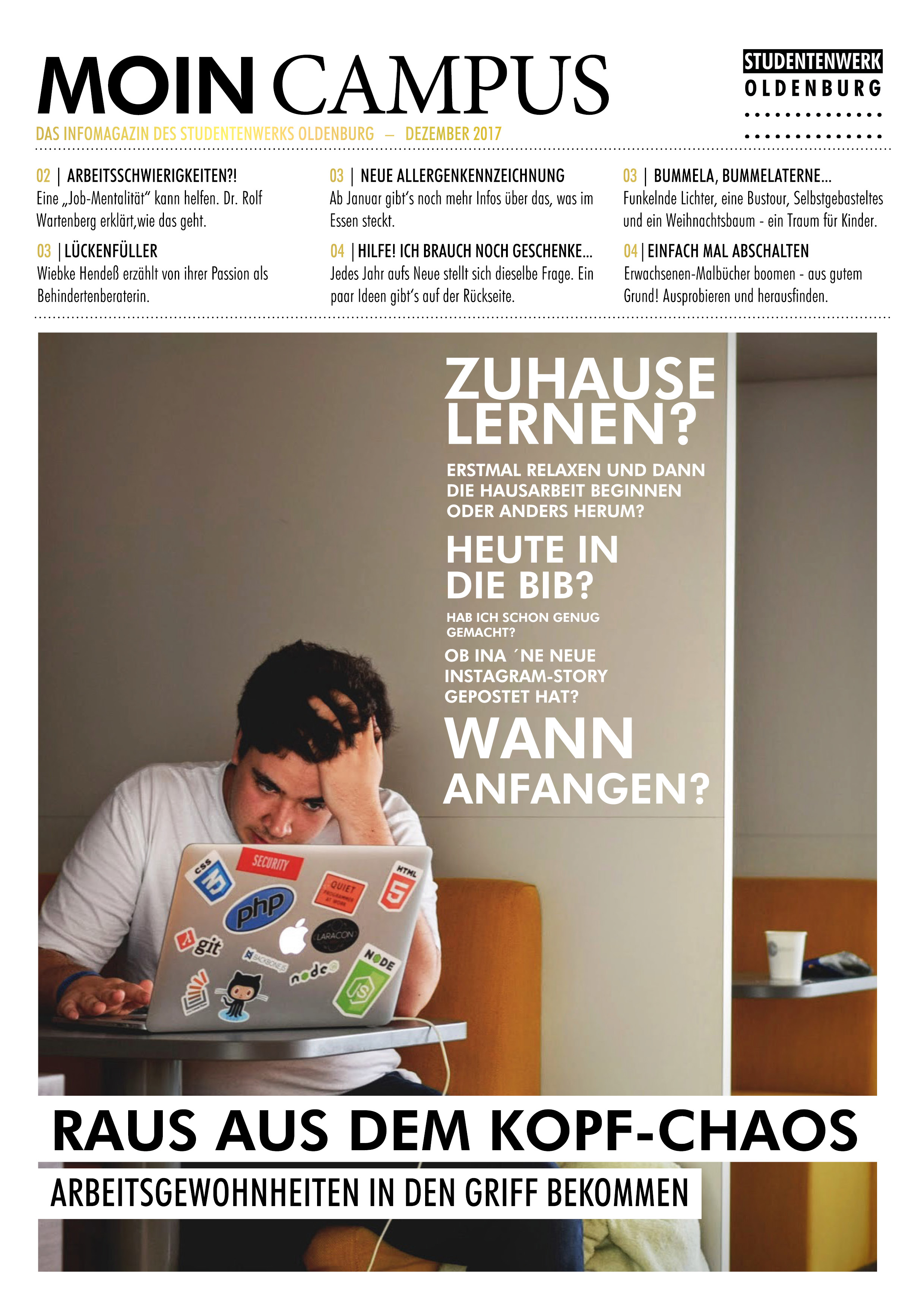 Moin Campus - Dezember 2017