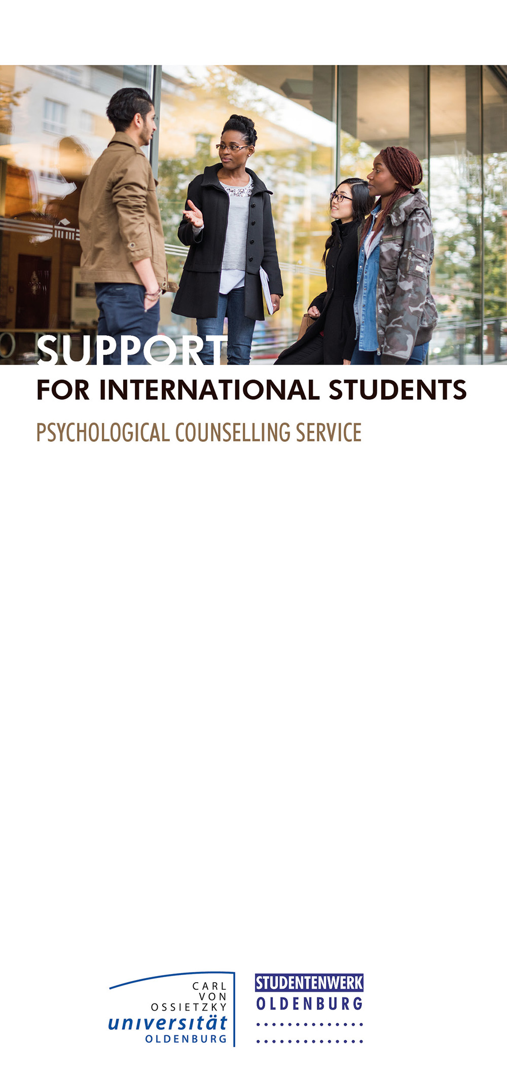 Support for international students: Psychological Counselling Service